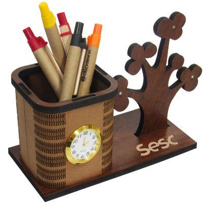 SP Ecologia - Porta-canetas personalizado.