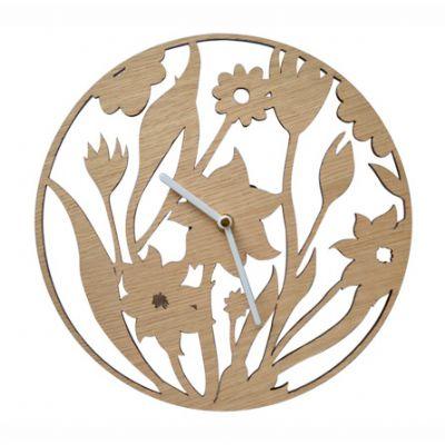 sp-ecologia - Relógio de madeira vazado