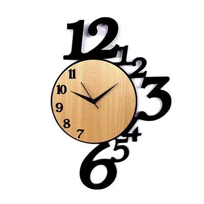 sp-ecologia - Relógio ecológico de madeira