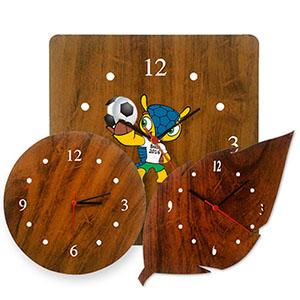 sp-ecologia - Relógio de parede com design diferenciado em MDF de 6 mm