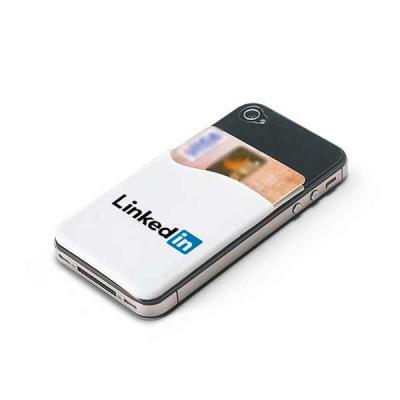 Porta cartão de silicone para celular