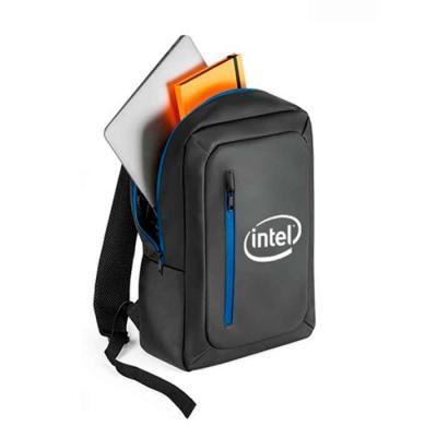 Mochila para notebook em poliéster 600d impermeável. Compartimento principal almofadado para note...
