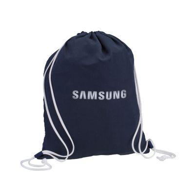 Saco mochila personalizado.