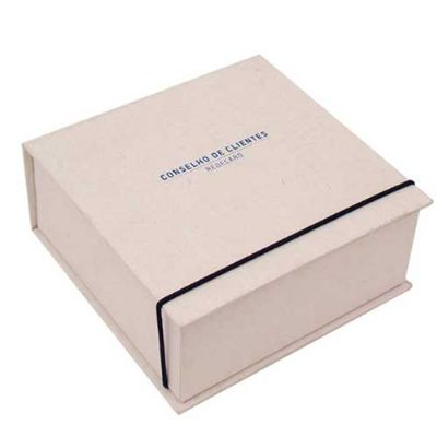 Caixa articulada com elástico - Caixas & Idéias