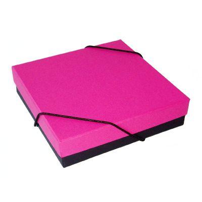caixas-e-ideias - Caixa tampa e fundo com elástico