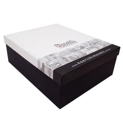 Caixa tampa e fundo personalizada - Caixas & Idéias