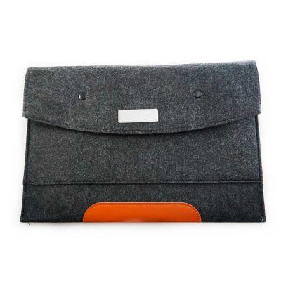 Tom Promocional - Pasta envelope com divisória. Tamanho total aproximado (CxD): 25,5 cm x 36,4 cm