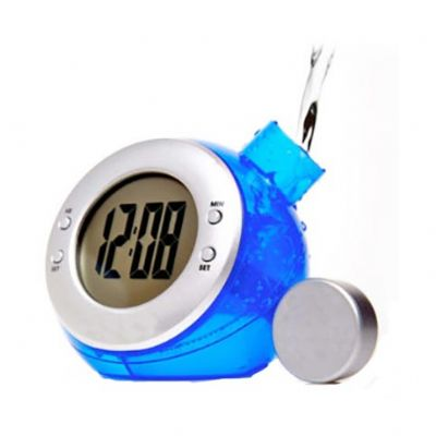 Tom Promocional - Relógio movido à água. Não necessita de pilhas nem de baterias.