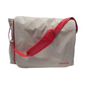 marcfialho - Bolsa maternidade confeccionada em bagun com forro interno em PVC.