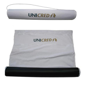 Marcfialho - Toalha esteira confeccionada em nylon 70 e toalha santista 100% algodão.