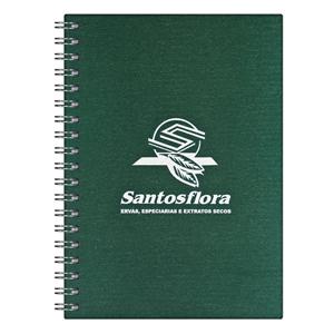 dz9-grafica - Caderno Personalizado - Linha percalux - Capa dura 21 x 28 cm - folha institucional, dados e calendário, 96 folhas personalizadas (off-set ou reciclad...