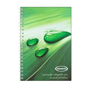 dz9-grafica - Caderno Personalizado - Linha colors - Capa dura (Medidas: 15 x 21 cm) - folha institucional, dados e calendário, 96 folhas personalizadas.