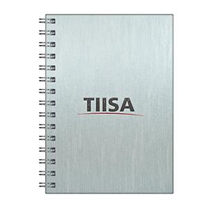dz9-grafica - Caderno Personalizado - Linha percalux - Capa dura 18 x 25 cm - folha institucional, dados e calendário, 96 folhas personalizadas (off-set ou reciclad...