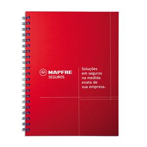 dz9-grafica - Caderno Personalizado - Linha colors - Capa dura 18 x 25 cm - folha institucional, dados e calendário, 96 folhas personalizadas (off-set ou reciclado)...