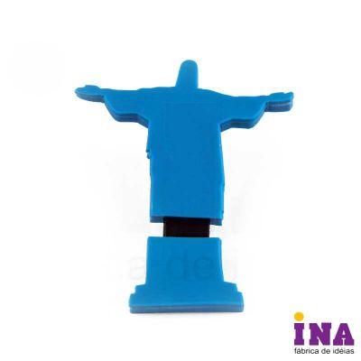ina-brindes - Pendrive emborrachado com personalização em alto relevo até 4 cores. Desenvolvimento formato exclusivo do cliente