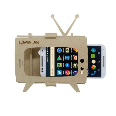 Ecologik Sustentáveis - Porta Celular - TV Retrô