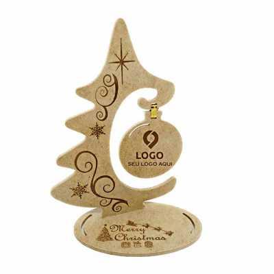 Ecologik Sustentáveis - Árvore de natal modelo cartão postal 3D