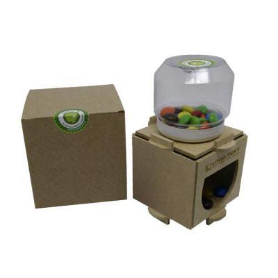 Kit para montar e pintar Baleiro Colore Confeccionado em madeira certificada, revestido com papel couché para serem coloridos. Gravação de logomarca.... - Ecologik Sustentáveis