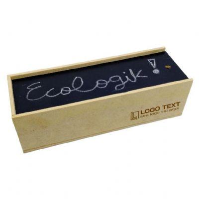 Ecologik Sustentáveis - Caixa estojo para canetas lousa