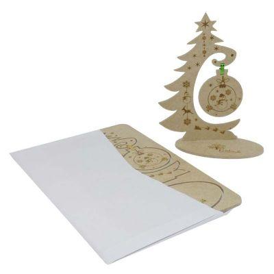 ecologik-sustentaveis - Cartão postal de natal 3D