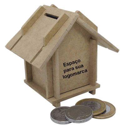 Ecologik Sustentáveis - Cofrinho personalizado casinha.