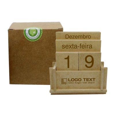Ecologik Sustentáveis - Calendário permanente databox