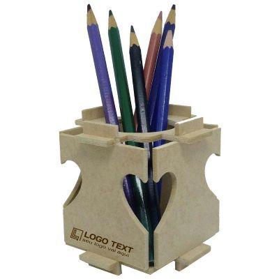 Ecologik Sustentáveis - Porta Lápis Enjoy Love