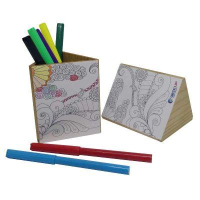 Porta Lápis Colore - Ecologik Sustentáveis
