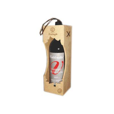 Ecologik Sustentáveis - Eco-caixa personalizada para vinho. Material ecológico com certificação FSC.