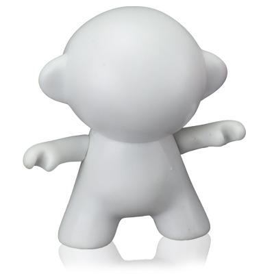 """Polo Art - Toy Art - modelo """"humanoide"""" com articulação entre a cabeça e o corpo, em vinil emborrachado. Tem as opções com e sem articulações dos braços"""