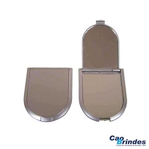 CAO Brindes - Espelho de bolsa duplo.