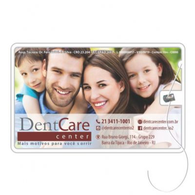 Elemento W - Cartão com fio dental