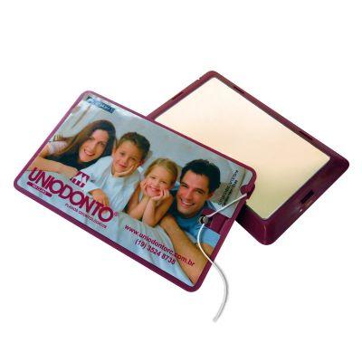 Elemento W - Cartão com fio dental e espelho