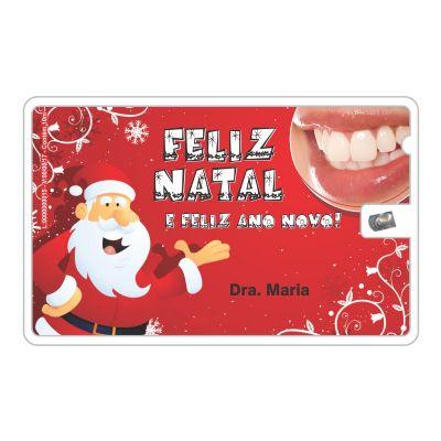 de27b1f3b Cartão de visita fio dental de plástico com 10 metros de fio dental ...