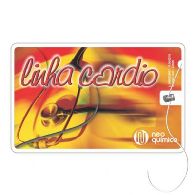 Cartão com fio dental - Elemento W