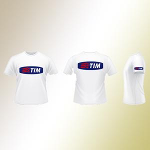 Camisetas feita em tecido reciclado.