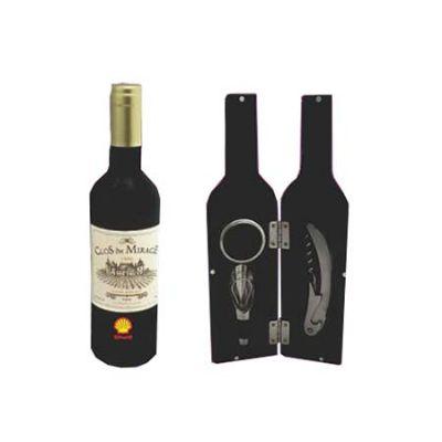Spok Brindes - Kit vinho personalizado.