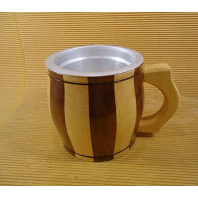 Armazém Brasileiro - Caneca de chopp 1lt madeira marfim