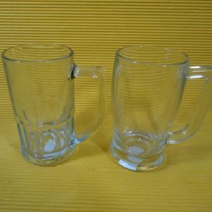 Armazém Brasileiro - Caneca de vidro para chopp nos modelos clássico Bristol ou Taberna com capacidade para até 340 ml. Belíssimas as canecas de vidro dão de muita person...