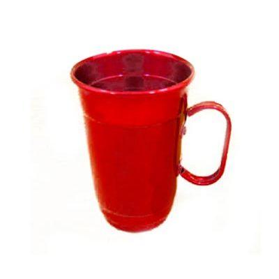 Caneca térmica de chopp produzida em alumínio com pintura especial em diversas cores. Capacidade 500 ml. Medidas: 14,5 x 9,5 cm. - Armazém Brasileiro