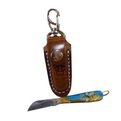 Armazém Brasileiro - Canivete com bainha chaveiro