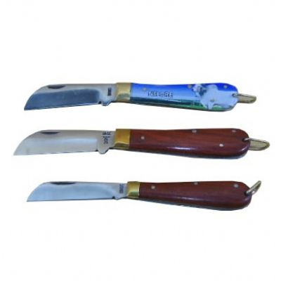 armazem-brasileiro - Canivete inox cabo madeira ou cabo acrílico