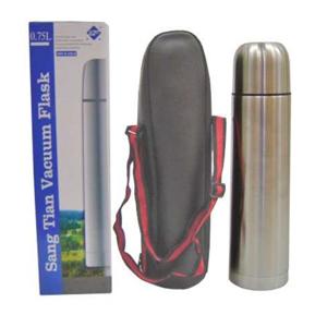 Armazém Brasileiro - Garrafa térmica personalizada confeccionada em inox com capacidade para até 750 ml em embalagem de nylon com alça ajustável. Ofereça a seus clientes u...