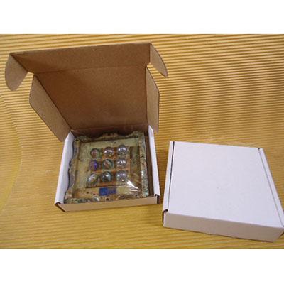 Jogo da Velha em Pedra Sabão, formato 11x11cm - Armazém Brasileiro