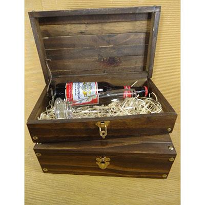 armazem-brasileiro - Kit Cerveja - Caixa Pinus envelhecido