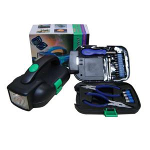 Lanterna personalizada com estojo de ferramentas incluso, fácil de transportar com ótima iluminação..Leve praticidade aos seus clientes e proteja-os d... - Armazém Brasileiro