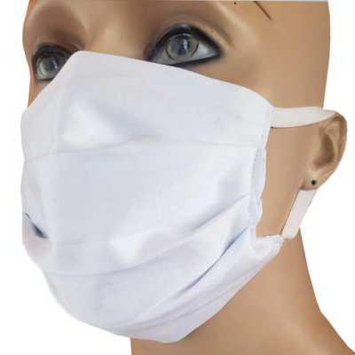 Máscara tecido duplo protetora