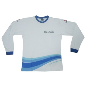 Potencial Brindes - Camiseta manga longa com impressão personalizada.