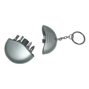 potencial-brindes - Chaveiro personalizado com ferramentas no seu interior.