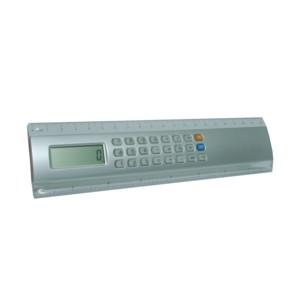 Régua personalizada com calculadora.